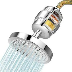 Dusch Kopf und 15 Stufiger Dusch Filter, Hoch Leistungs Dusc