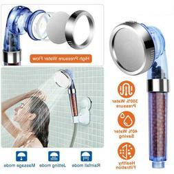 Duschkopf-Badezimmer Hoch Turbo Druck Kraftvoll Wassersparen