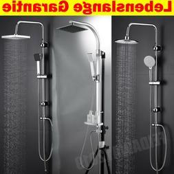 Duschset Regendusche Duscharmatur Duschsystem komplett Edels