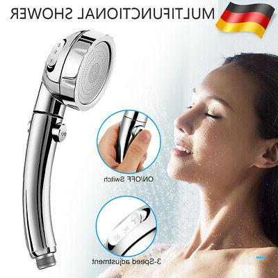 hochdruck duschkopf handbrause 3 modi ein aus