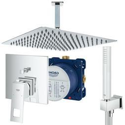 Unterputz Duschsystem mit Kopfbrause 300 x 300, Grohe Eurocu